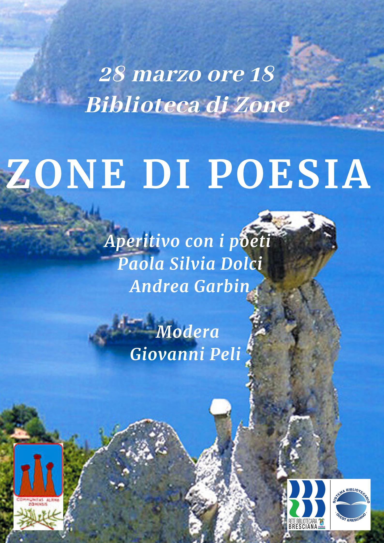 Zone di poesia 28 marzo